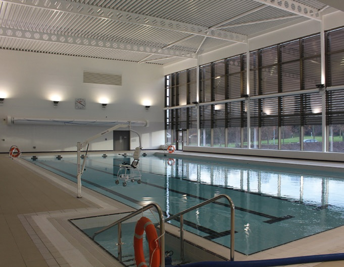 Operated by Parkwood Leisure, the new Rushcliffe Arena includes a six lane, 25m main pool and a learner pool with family beach.