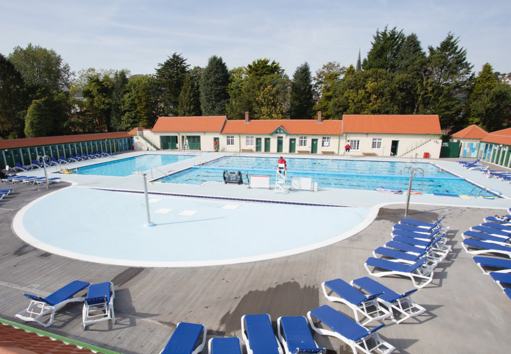 Wrightfield Pools opted for the Natare system on the three pool refurbishment project at Pontiprydd Lido.
