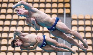 History-making diving duo, Jack Laugher and Chris Mears, were the only athletes from the diving community to be recognised in the New Year Honours List. Pic: SWpix.com.