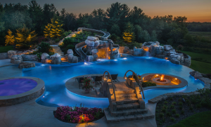 Category: Residential Concrete Pools - Freeform - 601 sq. ft. or more Company: Platinum Pools Standard: Gold