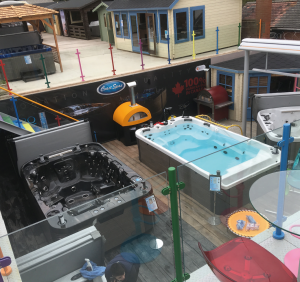 Award Leisure, formerly A5 Spas, has over 80 hot tubs on display across its three show sites in Warwickshire, Hertfordshire and Lincoln.