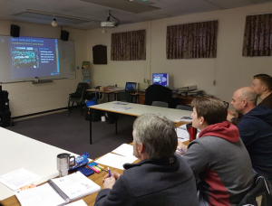 The UK's fi rst Ceritifi ed Hot Tub Technician course took place in February, with members of the 1 Stop Spas team.