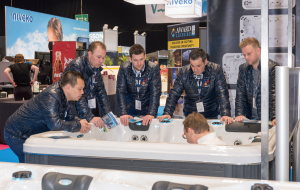 SPATEX 2017 welcomed spa manufacturers and retailers from across the country