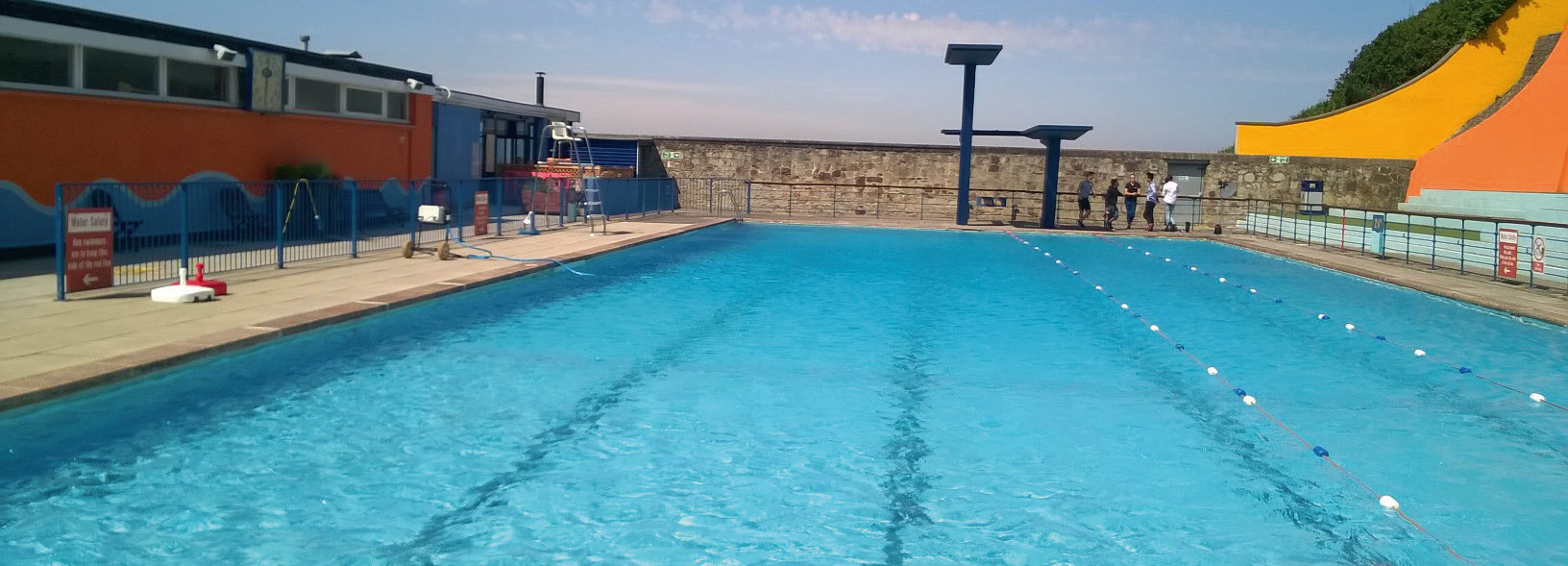 The refurbishment of Portishead Open Air Pool is being led by CP Pools and DG Pools & Leisure.
