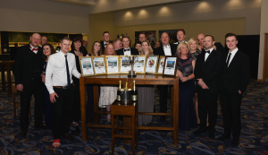 BISHTA members celebrated their annual awards night at the Ricoh Arena in Coventry in January.