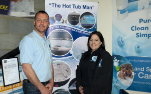 Fondly known as the 'Hot Tub Man', Jamie giles is celebrating 20 years in the industry this year