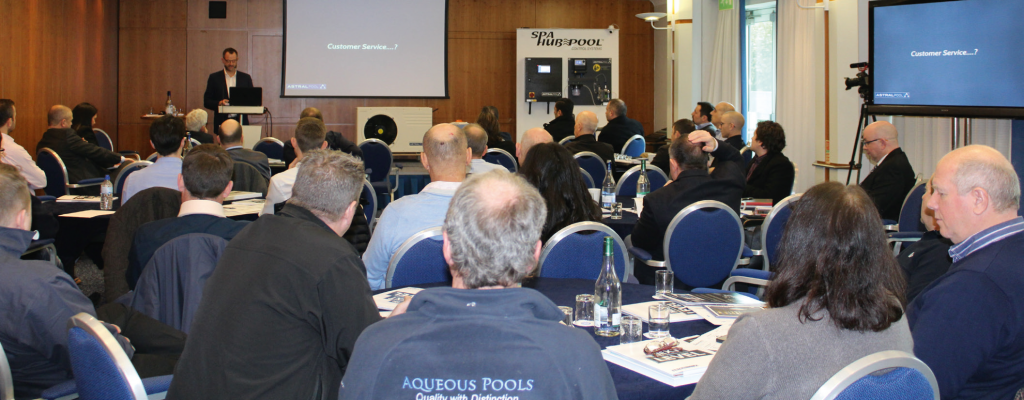 AstralPool UK recently hosted its seminar on the them of The Next Level.