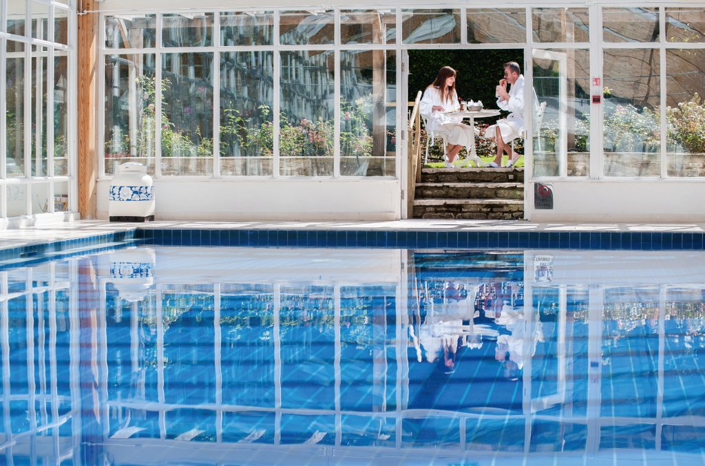 Research suggests that leisure club facilities rank in the top three buying decisions when people book hotel stays. Pic: Summer Lodge Country House Hotel & Spa.