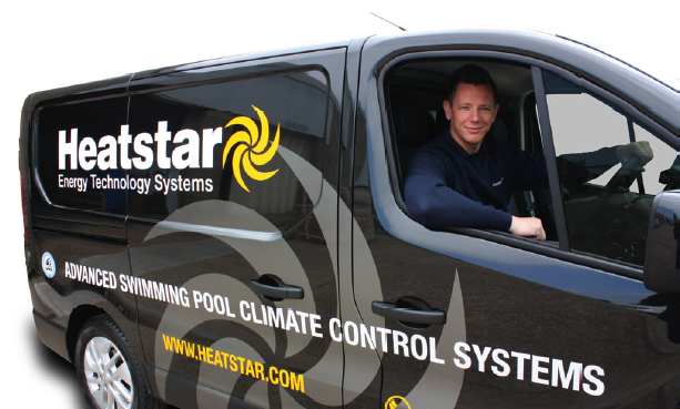Heatstar service engineers achieved a 96.7% fi rst visit fi x rate.