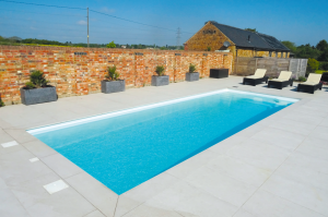 With hundreds of installations under their belt there aren't many one-piece pool situations that the Sundance Pools team have not come across.