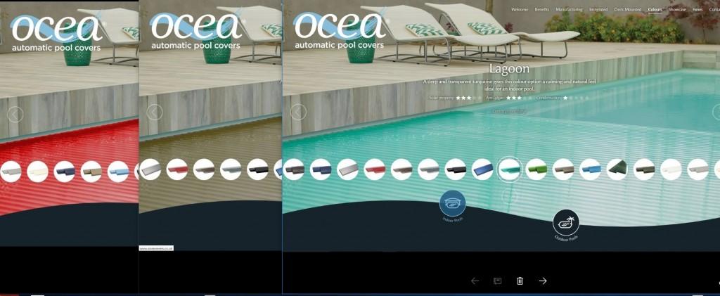 Ocea Web Window
