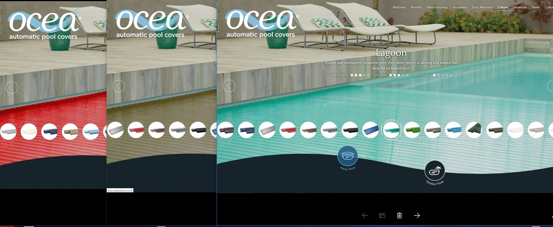 Ocea Web Window