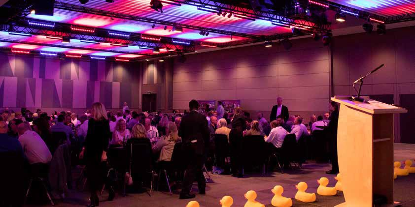 ABOVE: Now in its eighth year, the UK Pool & Spa Awards gives water leisure companies a valuable marketing boost.