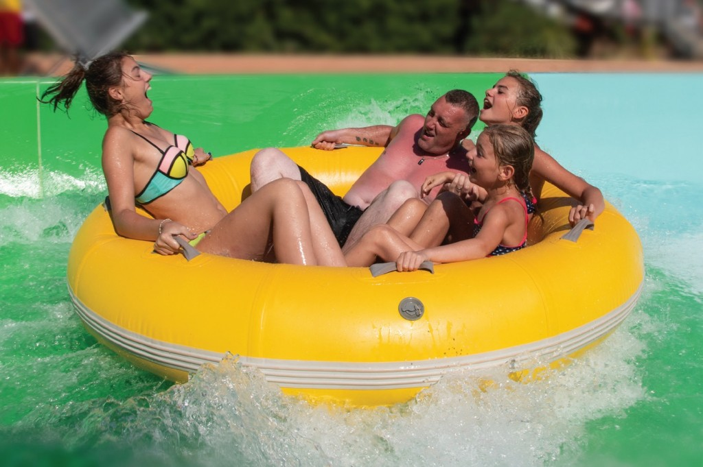 Adrenaline Pumping Waterslide