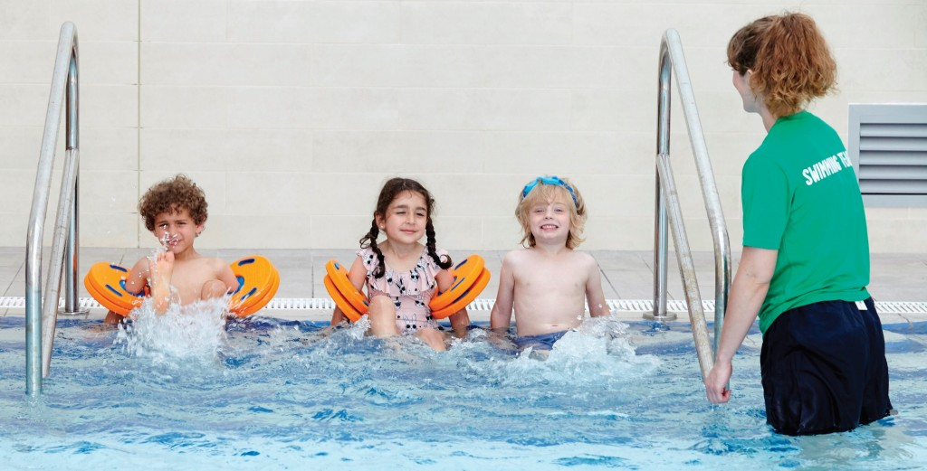 RAF Support Mum's Swim Teaching