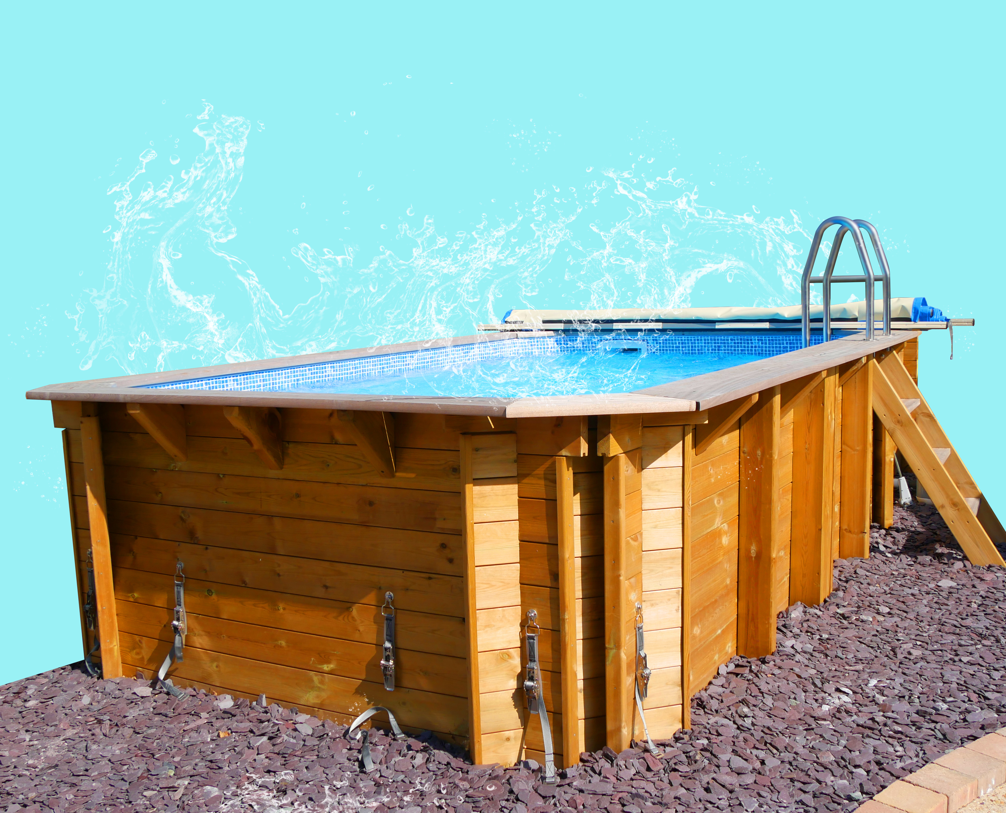 Plastica_Exercise Wooden Pool_water effect