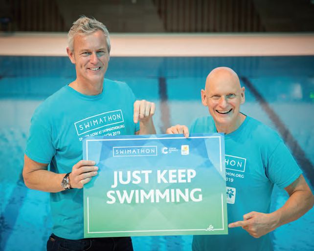 Swimmers Urged To Take Plunge