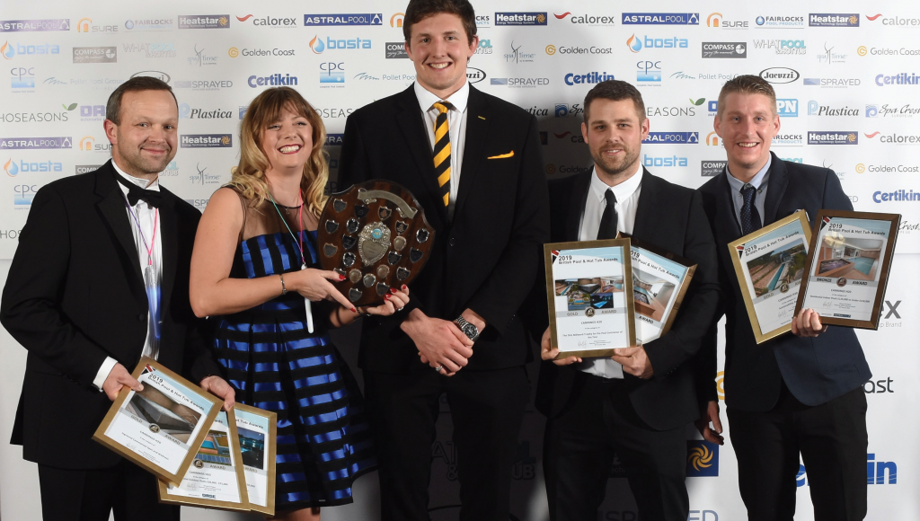 A golden anniversary and a golden night for the team from Cannings H20