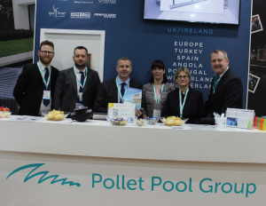 The Pollet team were kept exceptionally busy at this year's SPATEX