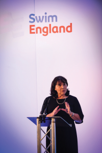 Jane Nickerson, Swim England's CEO, is optimistic about the PWTAG move.