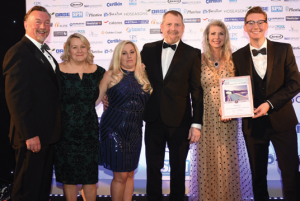 Tanby Pools won gold in the residential hot tubs category