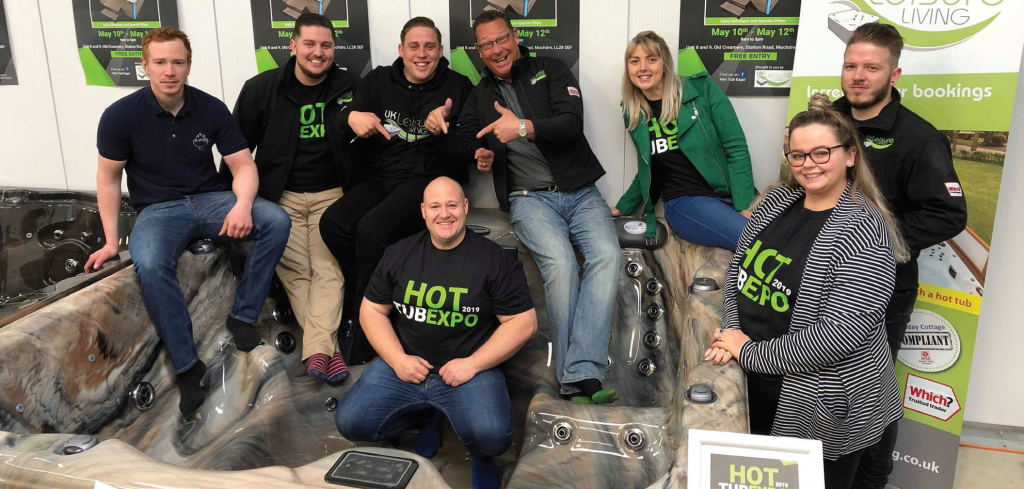 Sizzling Launch For First Hot Tub Expo pic 1