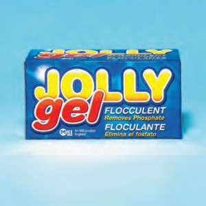 JOLLY GEL is proven to make pool water sparkle.
