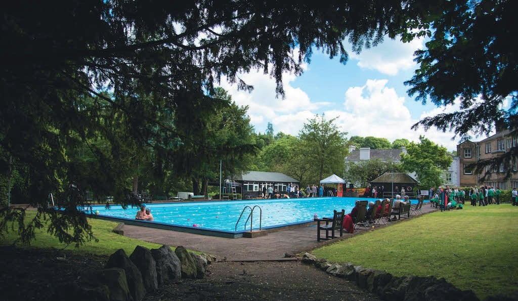 historic pool revitalized