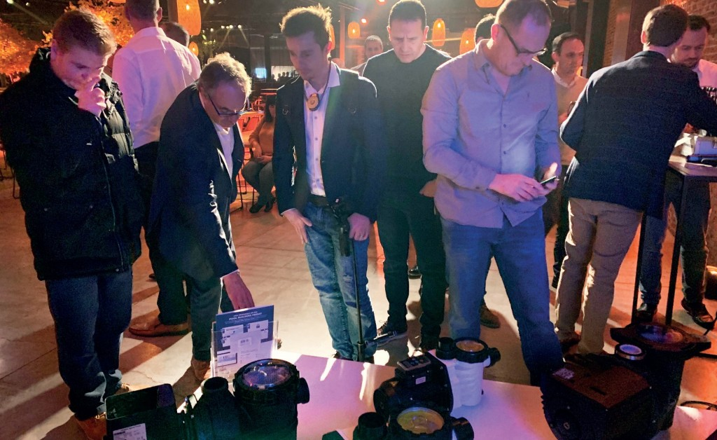 THE PPG EVENT showcased many of its leading ranges.