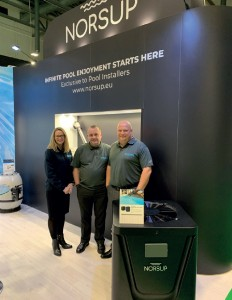 THE BOSTA TEAM were at SPATEX to promote their Norsup range.