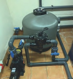 -A WATERCO SMD750 MICRON FILTER was fitted to allow maximum hydraulic performance.