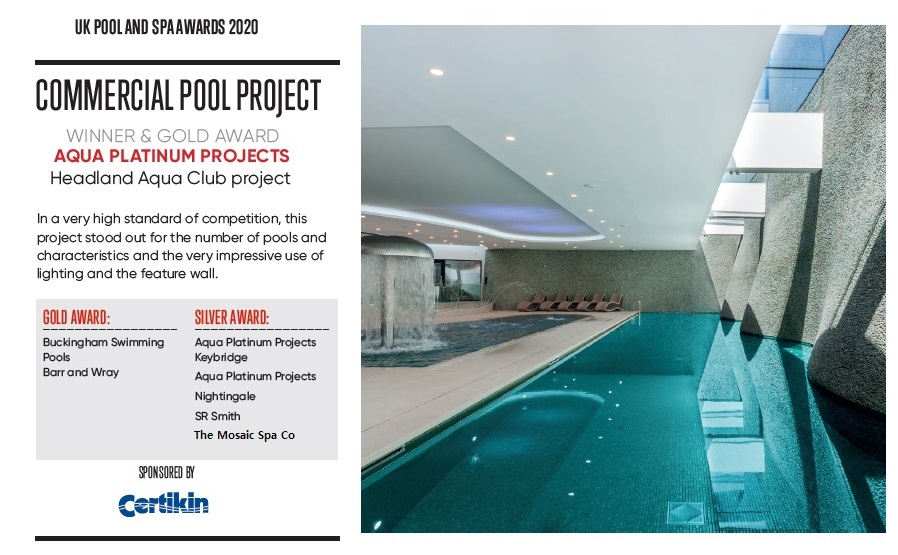 Commercial Pool project