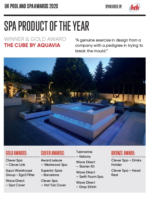 Spa Product of the year