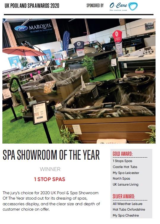 Spa Showroom