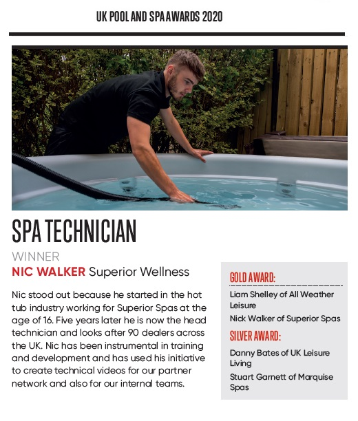 Spa Technician of the year