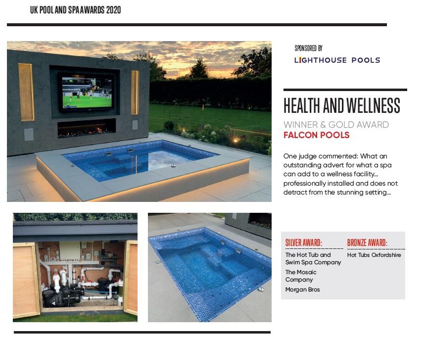 health and wellness spa side