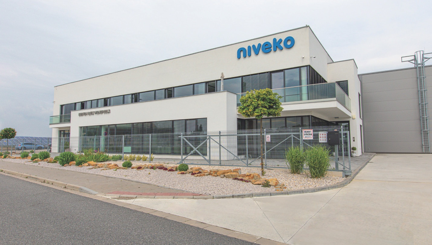 EXTENDED PRODUCTION will enable Niveko to considerably cut delivery times