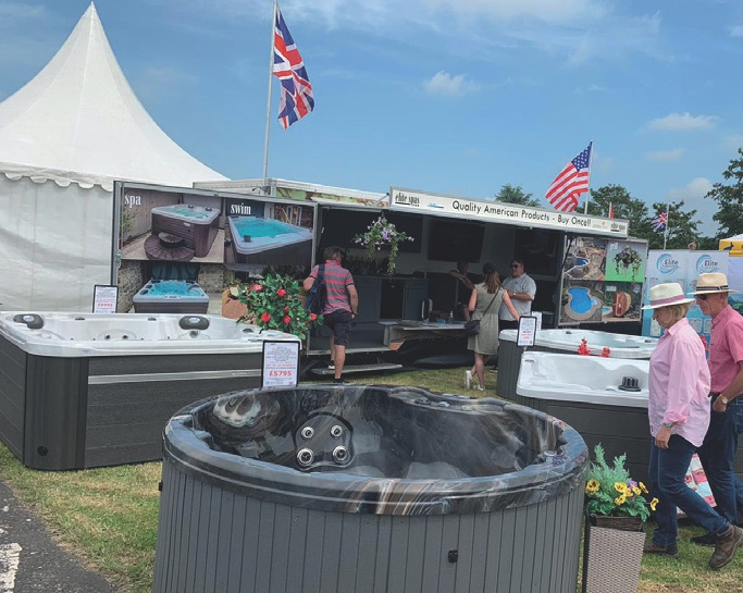 TRADE WAS BRISK for the Elite SW team at this year's Devon County Show