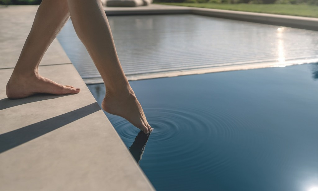 NOT COVERING A POOL, when it is not in use, is tantamount to pouring liquid gold down the main drain. Pic PPG